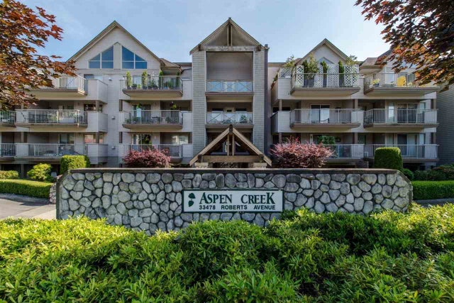 202 33478 ROBERTS AVENUE - Central Abbotsford Apartment/Condo for sale, 1 Bedroom (R2246277) #1
